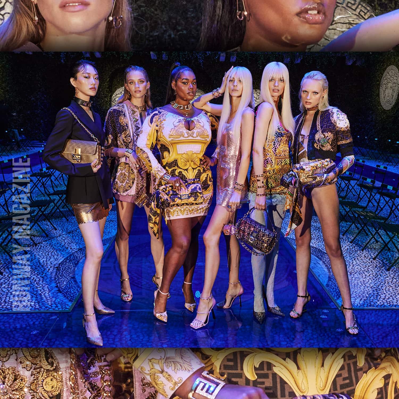 Collaborazione Fendi Versace - The Swap - Fensace - Fendace - di RUNWAY MAGAZINE