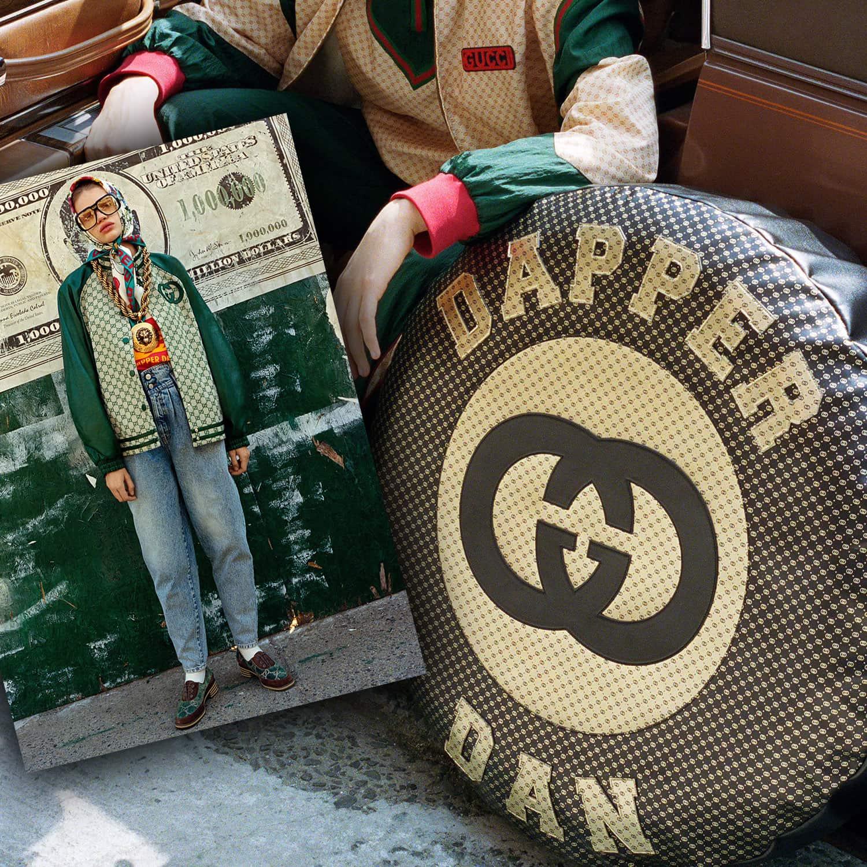 Campanha Gucci x Dapper Dan 2017 por RUNWAY MAGAZINE