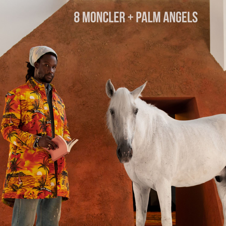 8 MONCLER + PALM ANGELS
