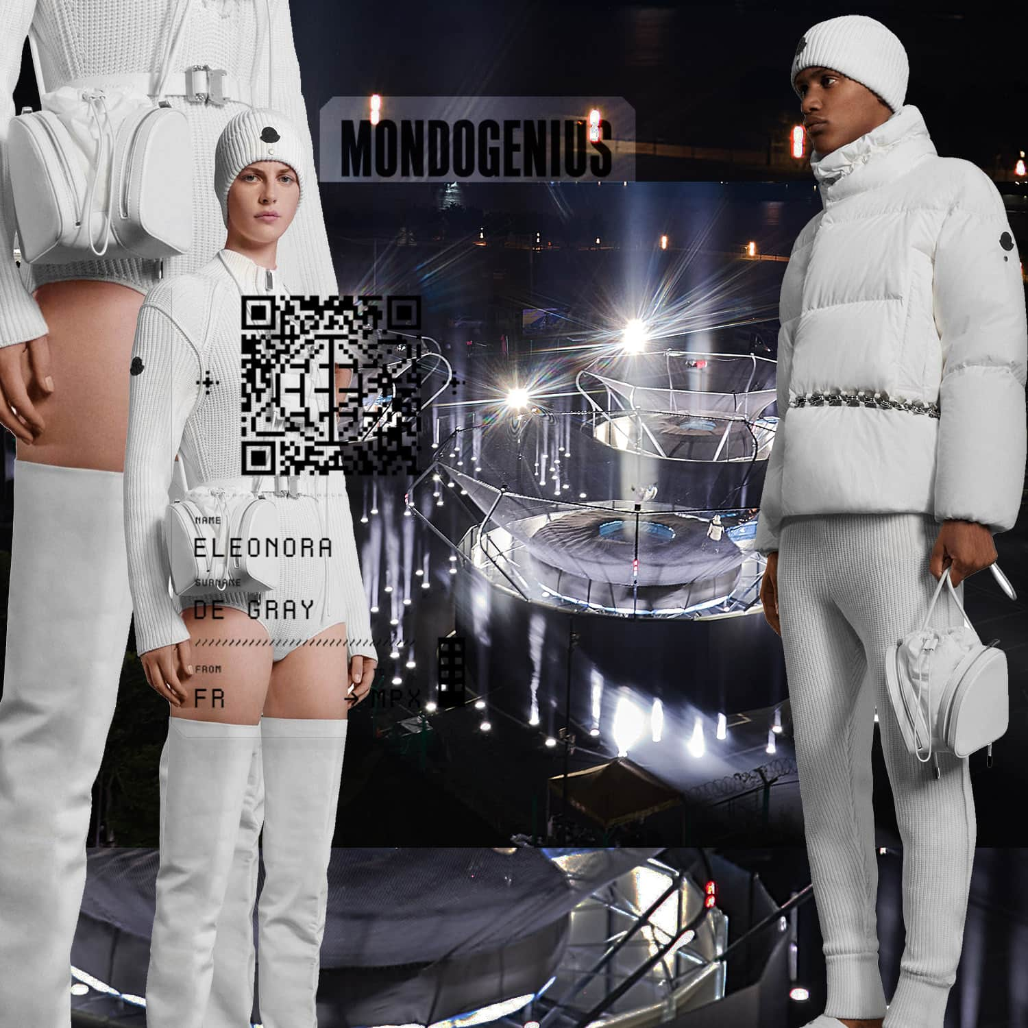 9 MONCLER GRENOBLE INSTALLATION - Moncler 6 1017 Alyx 9SM - by RUNWAY MAGAZINE