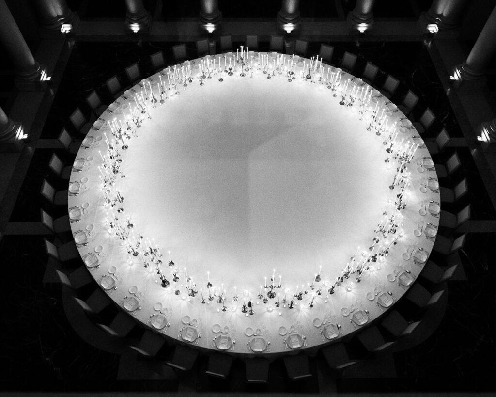 Saint Laurent Dinner Hypervenezia At Palazzo Grassi by RUNWAY MAGAZINE