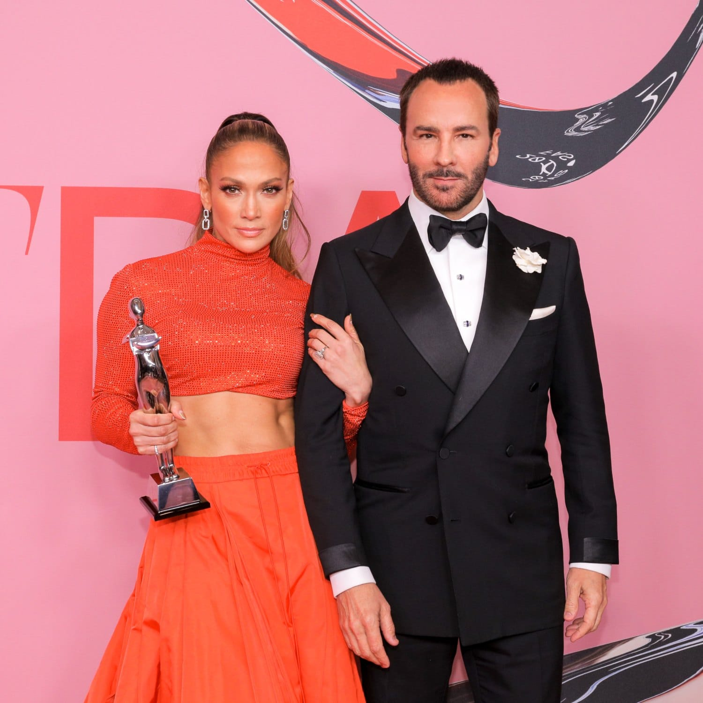 CFDA Awards 2021 - Jennifer Lopez and Tom Ford