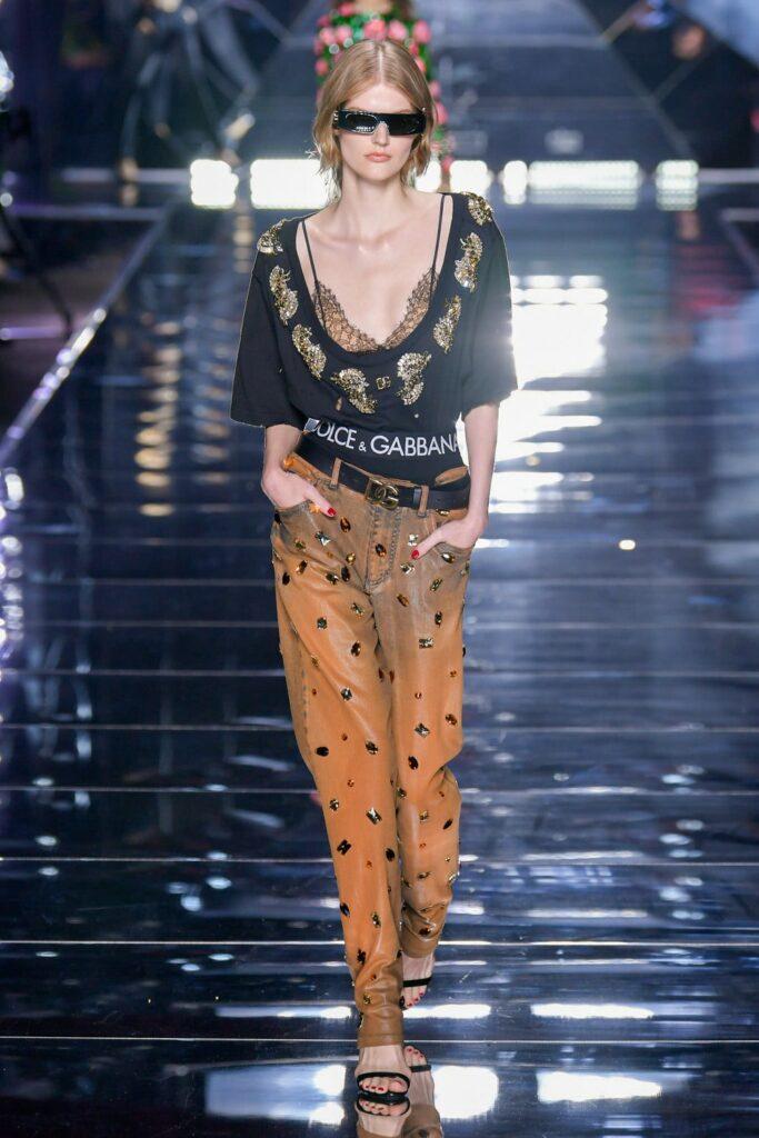 Dolce Gabbana Spring Summer 2022 Milan by RUNWAY MAGAZINE