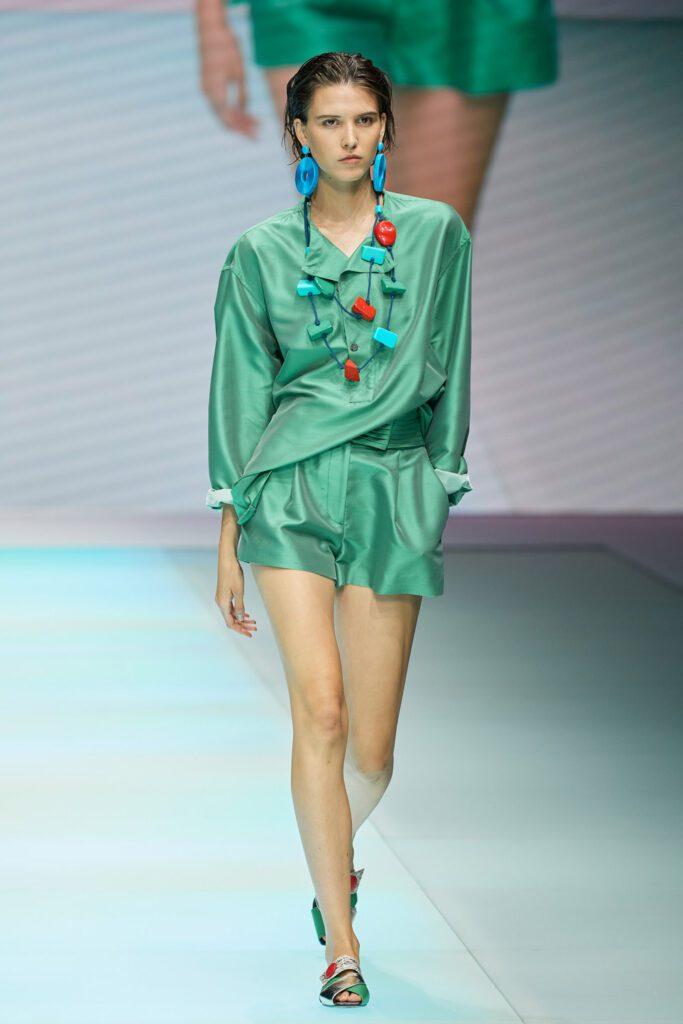 Emporio Armani Spring Summer 2022 by RUNWAY MAGAZINE