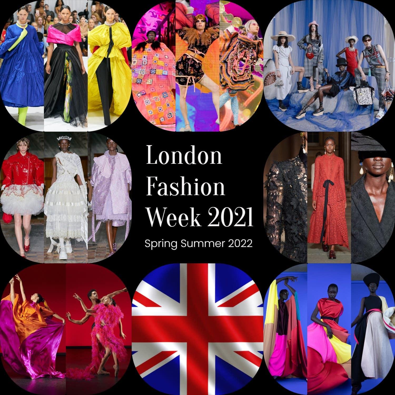 Semana de la Moda de Londres 2021 - Temporada Primavera Verano 2022 por RUNWAY REVISTA