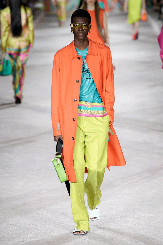 Versace Spring Summer 2021 Milan by RUNWAY MAGAZINE