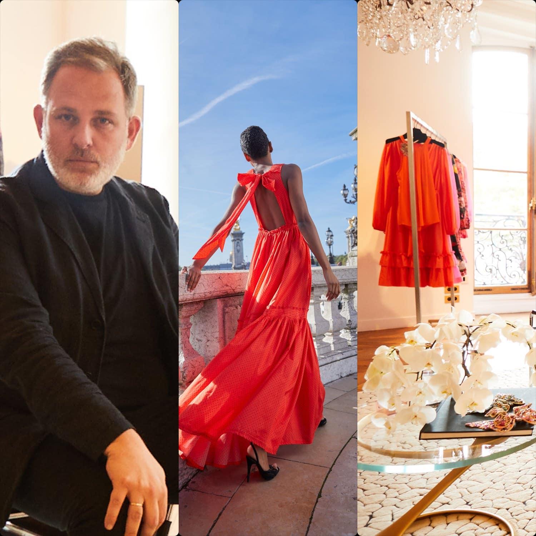 Kobi Halperin - designer Ungaro - Spring Summer 2022 by RUNWAY MAGAZINE