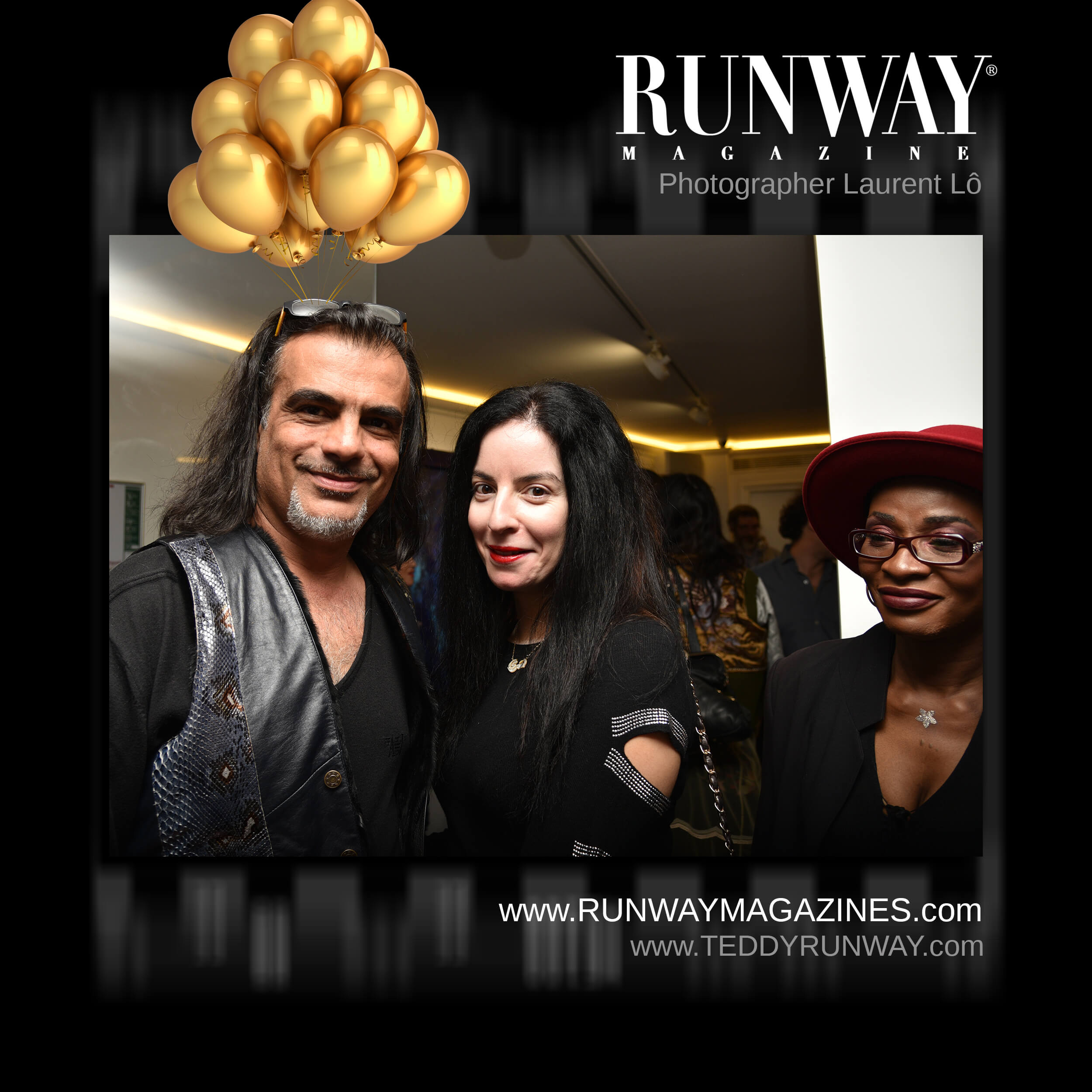 Teddy Runway Magazine Official Party. Runway Magazine Official Party