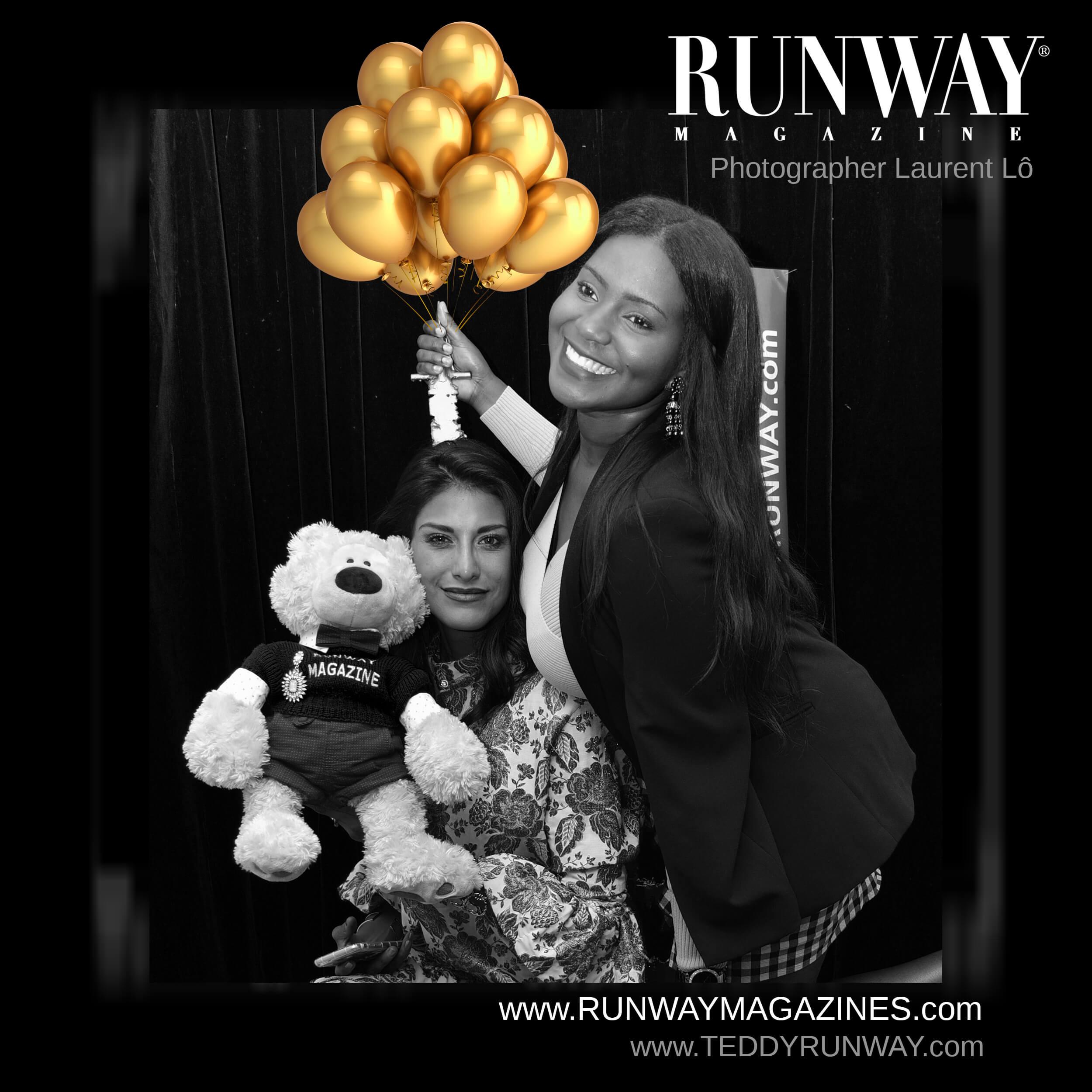 Teddy Runway Журнал Официальная вечеринка