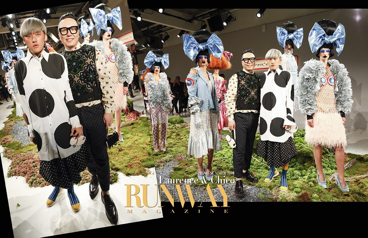 Laurence & Chico collection Spring Summer 2018 by Runway Magazine