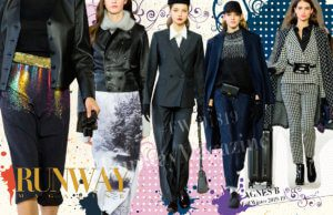 AGNES B Fall-Winter 2018-2019 by Runway Magazine Paris FW