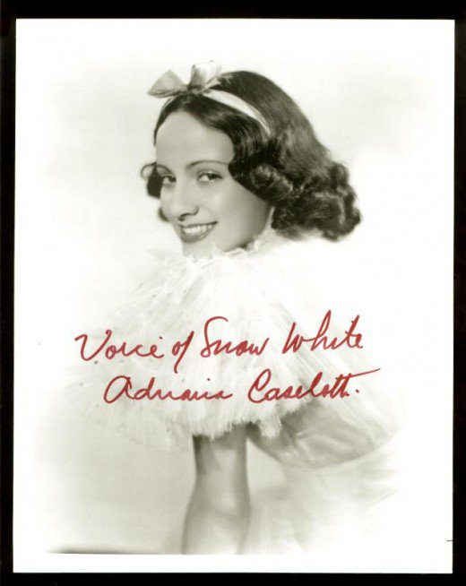 Adriana Caselotti Snow White 8 Fascinating Facts About Walt Disney