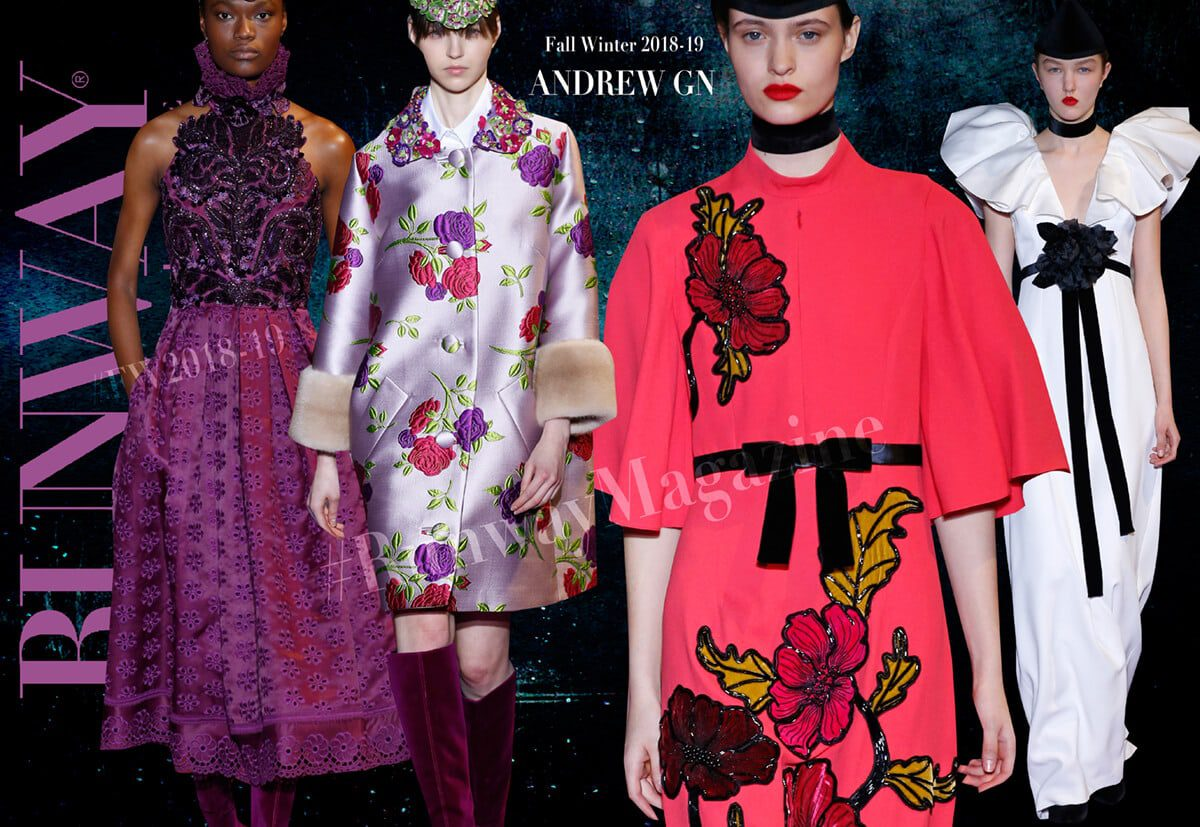 Andrew GN Fall Winter 2018-2019 by Runway Magazine Paris Fashion Week