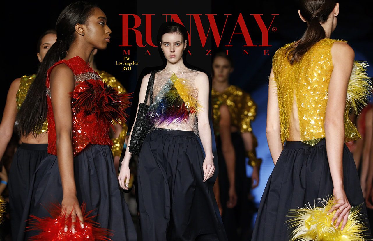 BYO Spring Summer 2018 by Runway Magazine Los Angeles Fashion Week