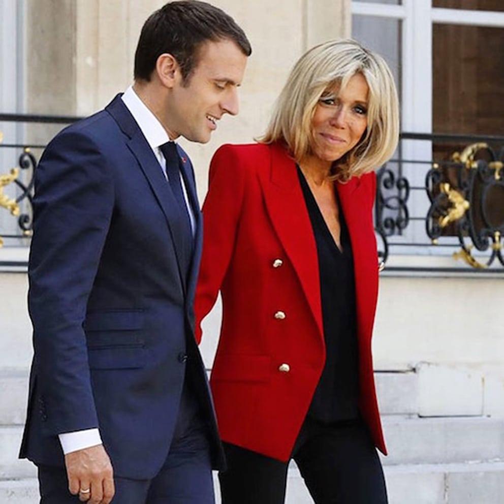 Brigitte Macron in Alexandre Vauthier by Runway Magazine