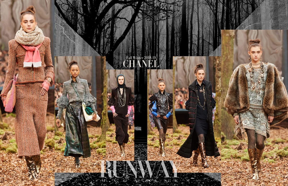 CHANEL Fall-Winter 2018-2019 by Runway Magazine Paris FW