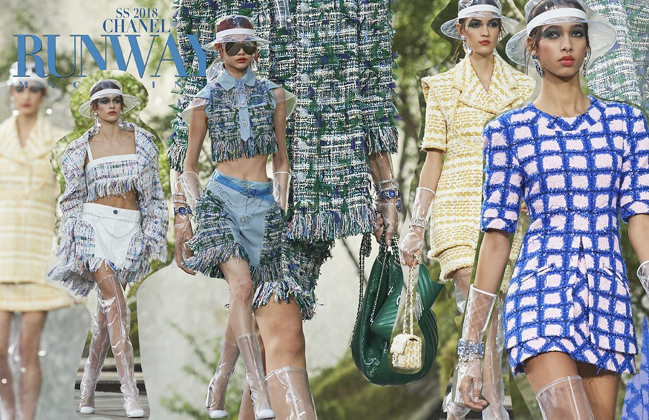 CHANEL Spring Summer 2018 Ready-To-Wear by Runway Magazine