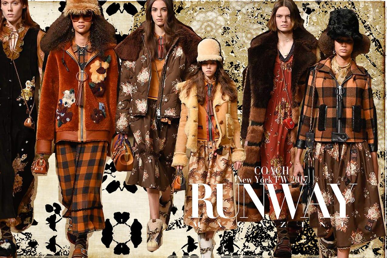 COACH Fall Winter 2017-2018 New York by Runway Magazine