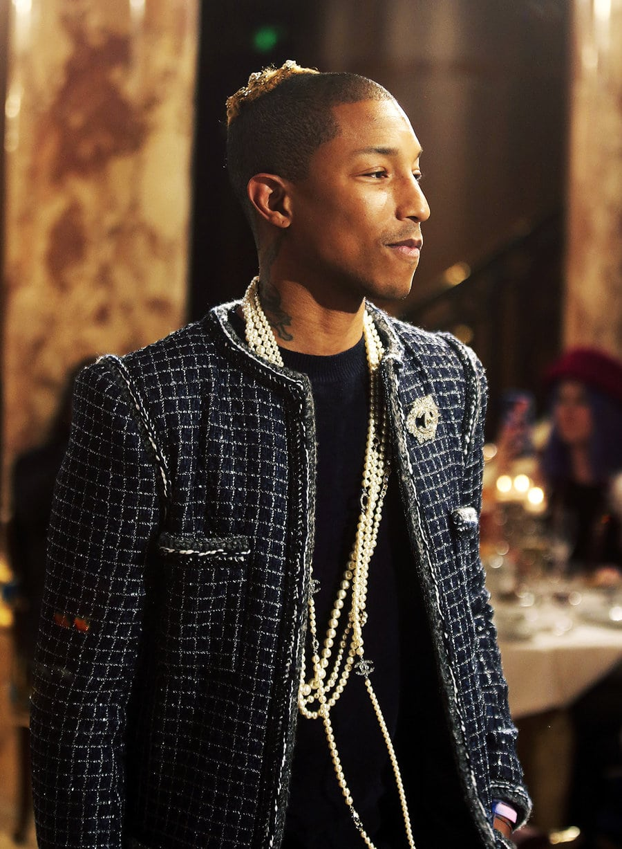 Camus:AP:REX:Shutterstock-pharrel-williams-chanel-metiers-dart-event-dec-6-2016 Pharrell Williams