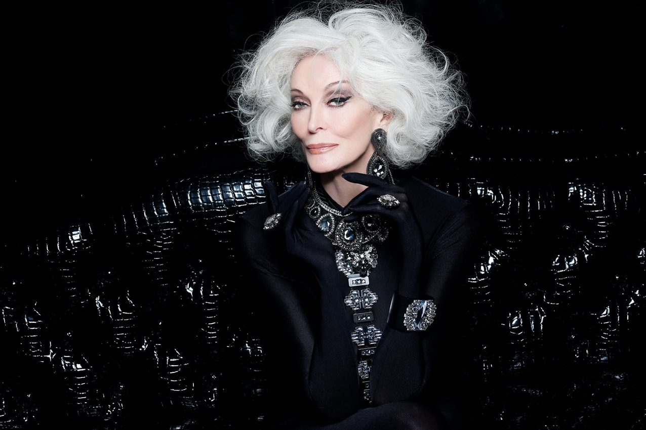 Carmen Dell'Orefice ETERNAL BEAUTY by Runway Magazine
