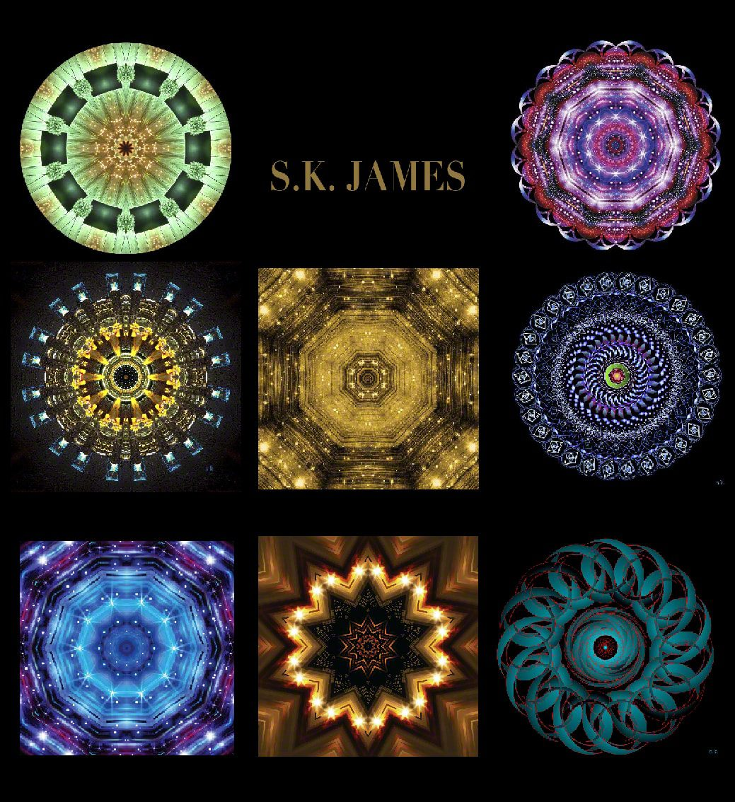 S.K. James Digital Mixed Media Artist by Runway Magazine