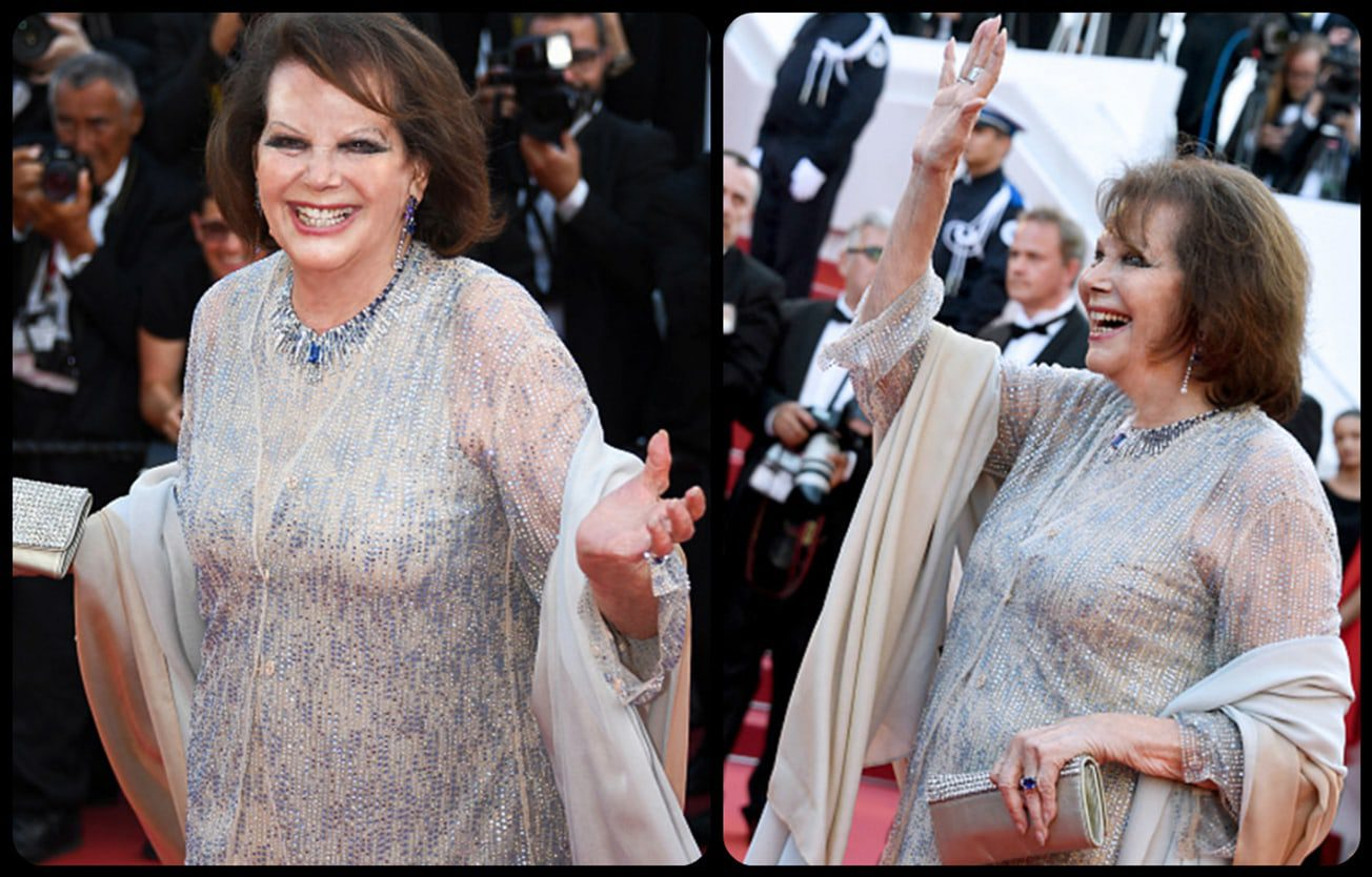 Claudia Cardinale Armani by Runway Magazine Cannes Fashion Film Festival 2017