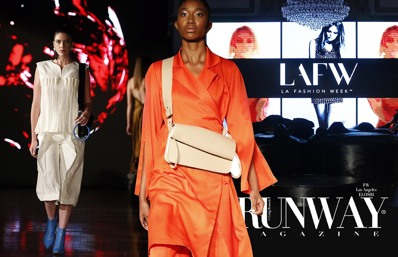 ELOSHI Spring Summer 2018 by Runway Magazine Los Angeles Fashion Week