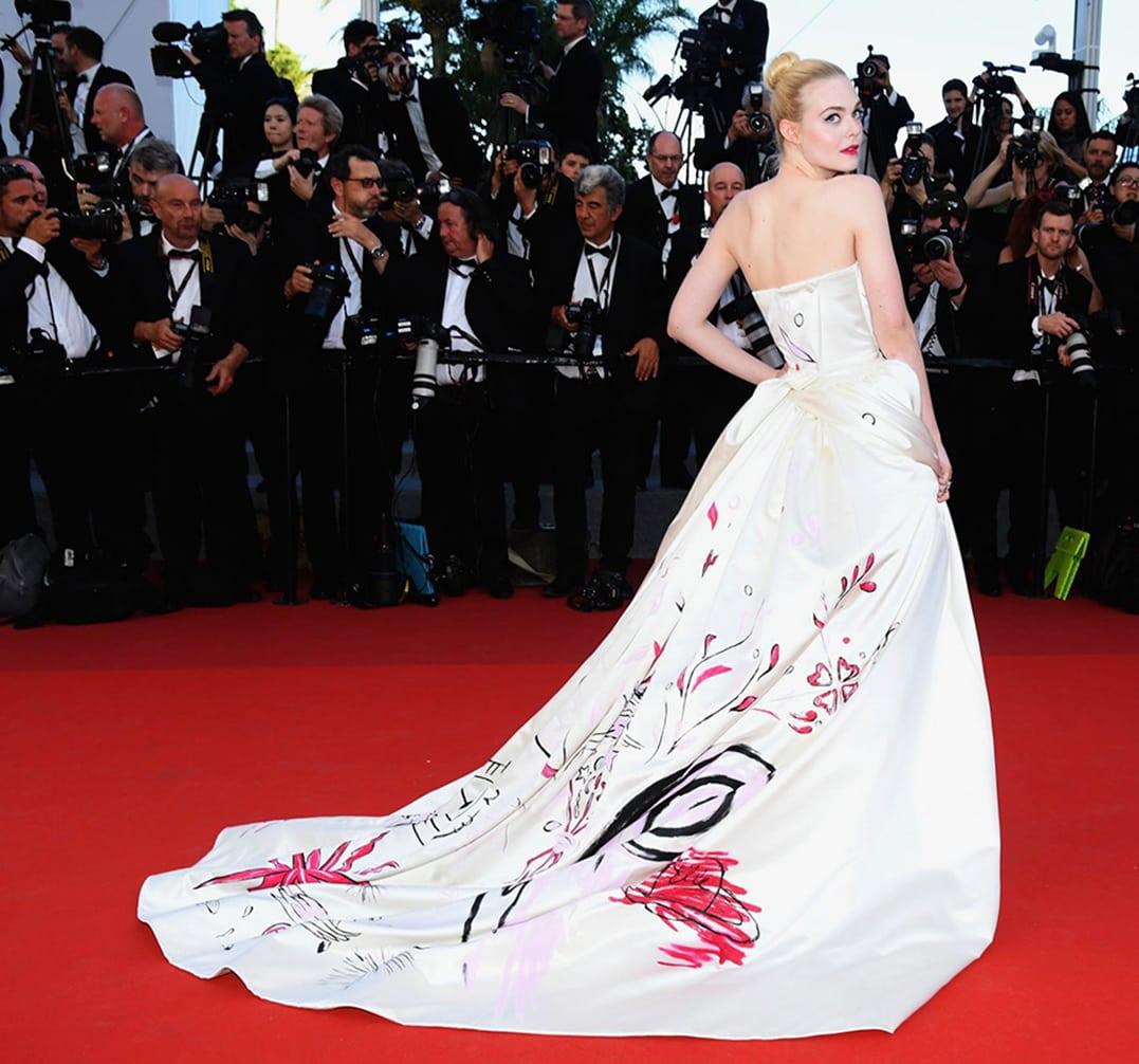 Elle Fanning by Runway Magazine Cannes Fashion Film Festival 2017