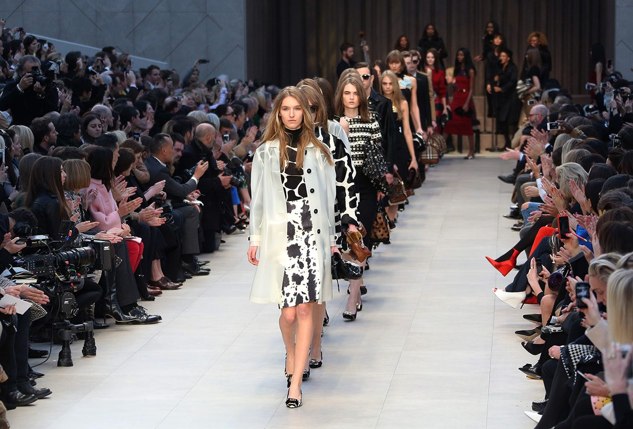 London Fashion Week Burberry Prorsum Show History of the Fashion Week