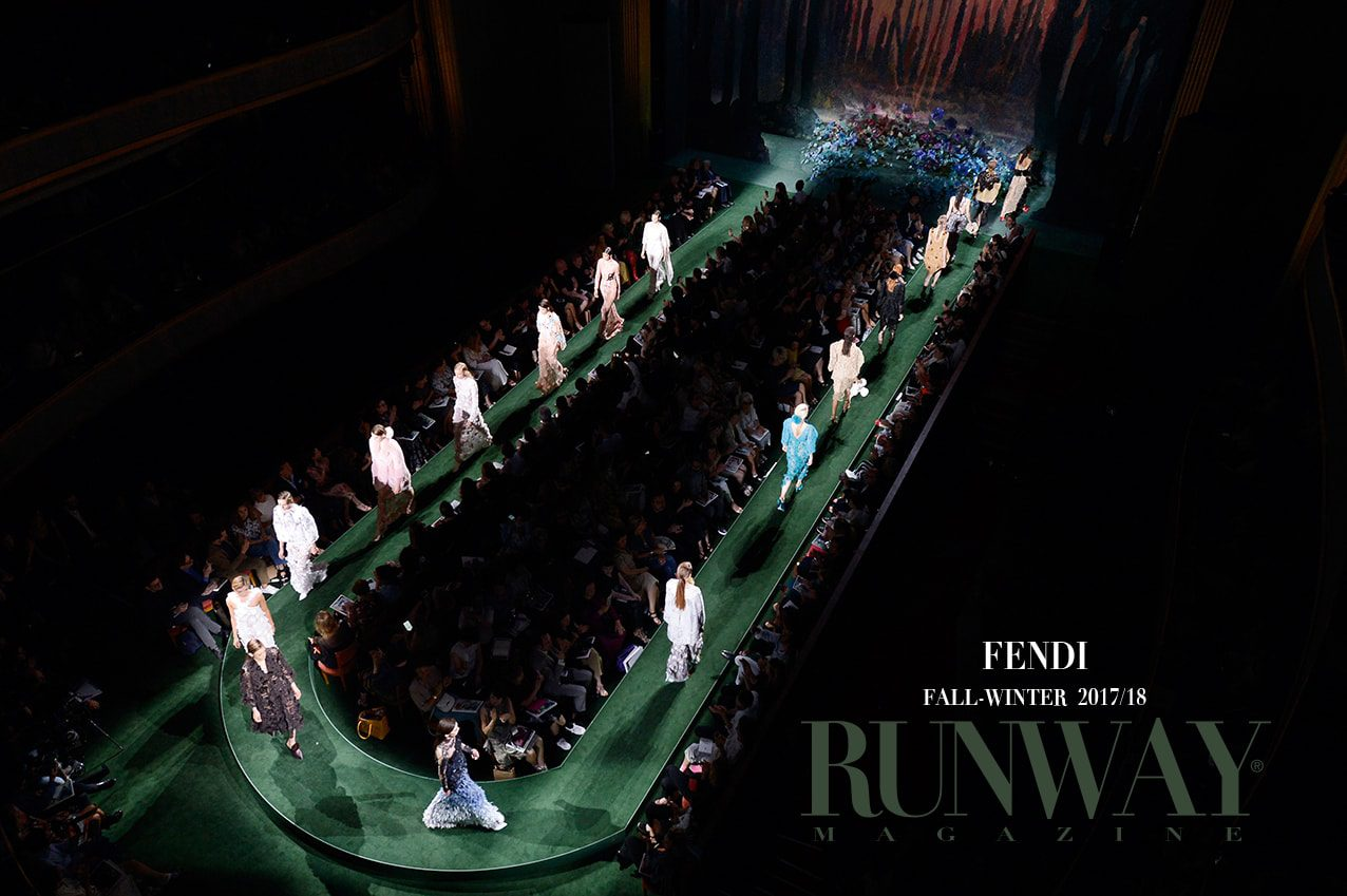 FENDI Collection Fall Winter 2017-18 by Runway Magazine
