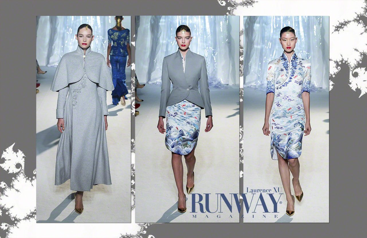 Laurence XU by Runway Magazine