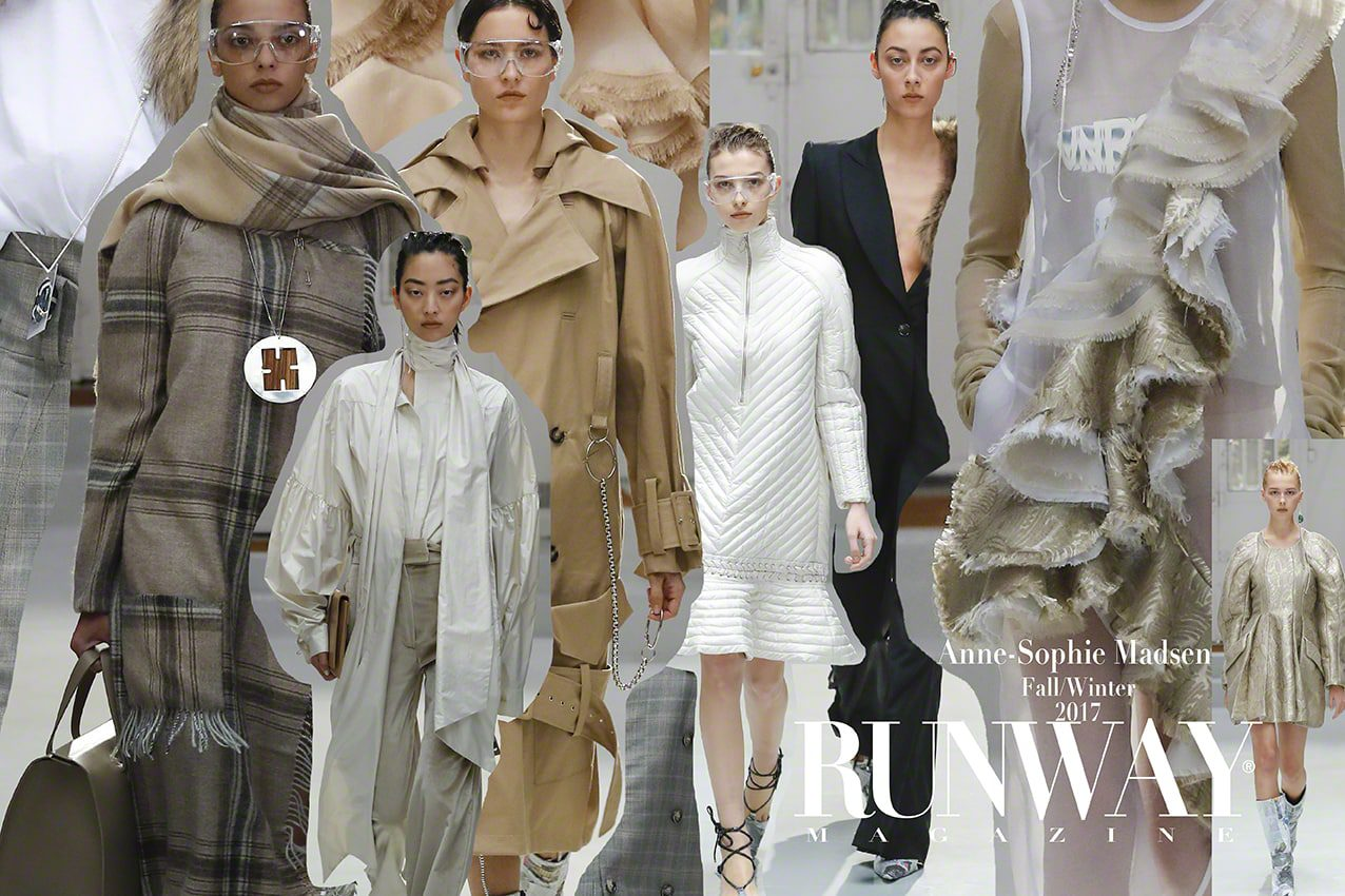 Anne-Sophie Madsen Fall Winter 2017-2018 Paris Fashion Week by Runway Magazine