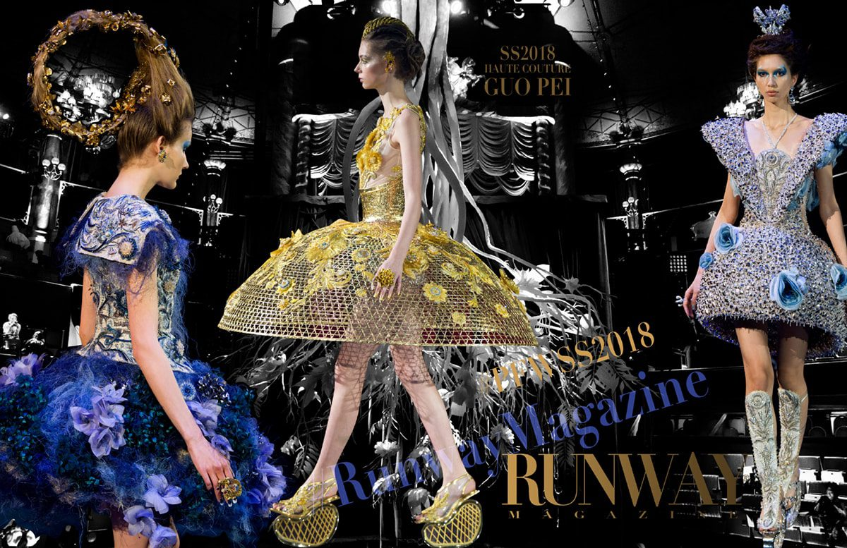 Guo Pei Haute Couture Spring Summer 2018 by Runway Magazine