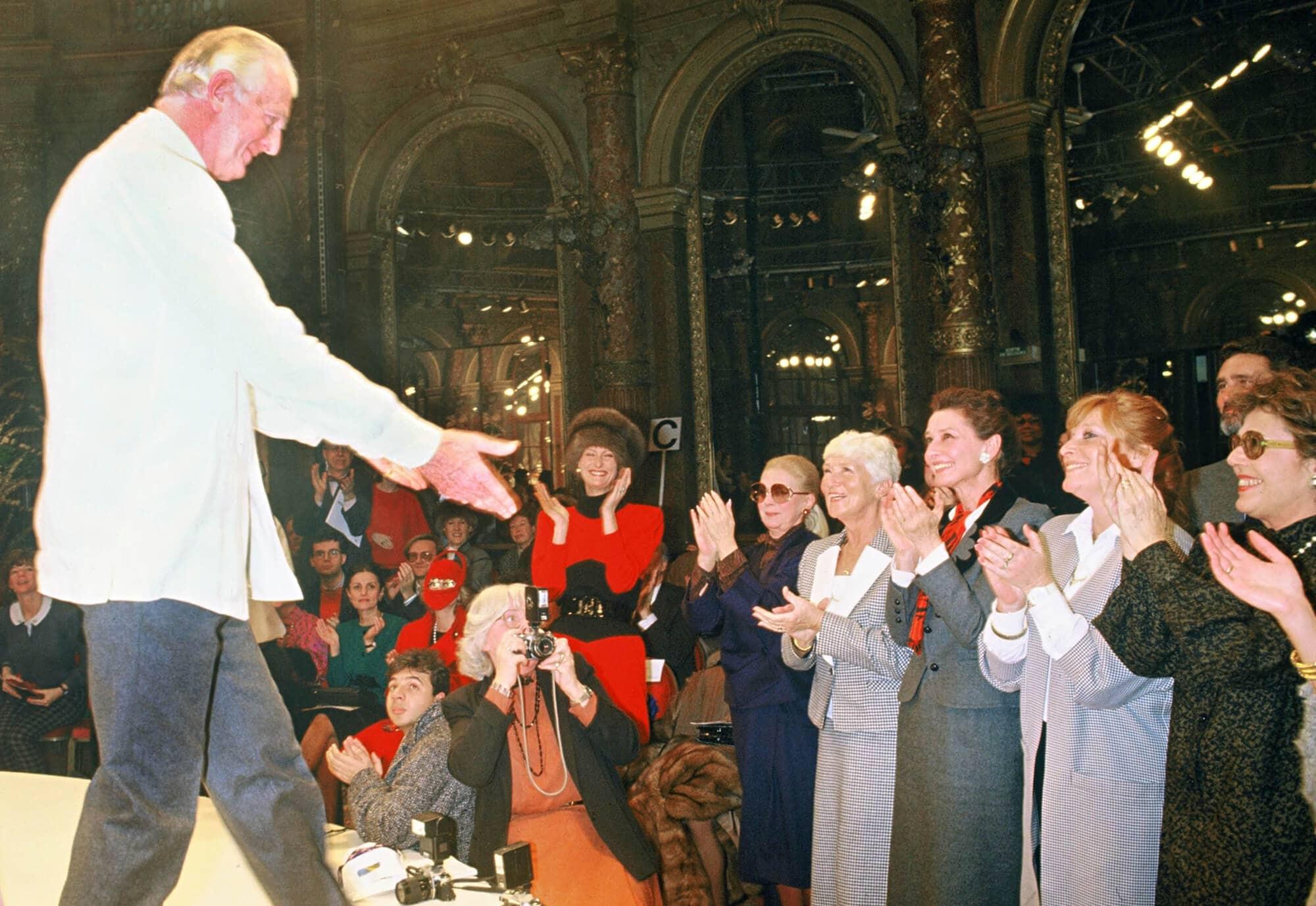 Одри Хепберн в Givenchy, 1986