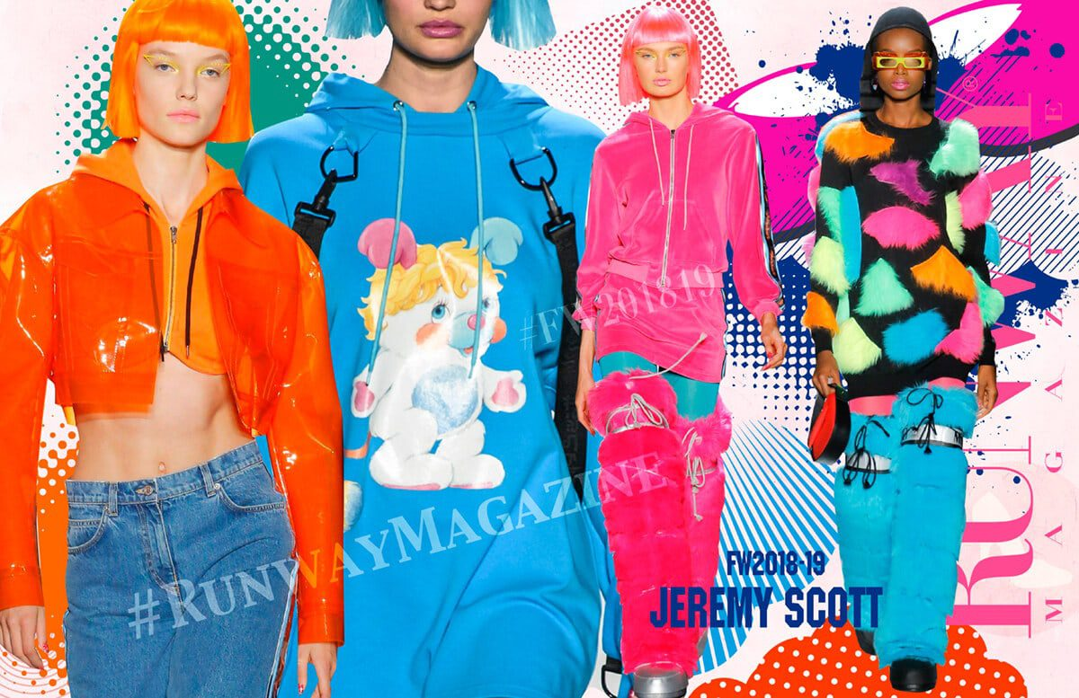 JEREMY SCOTT Fall-Winter 2018-2019 by Runway-Magazine New York