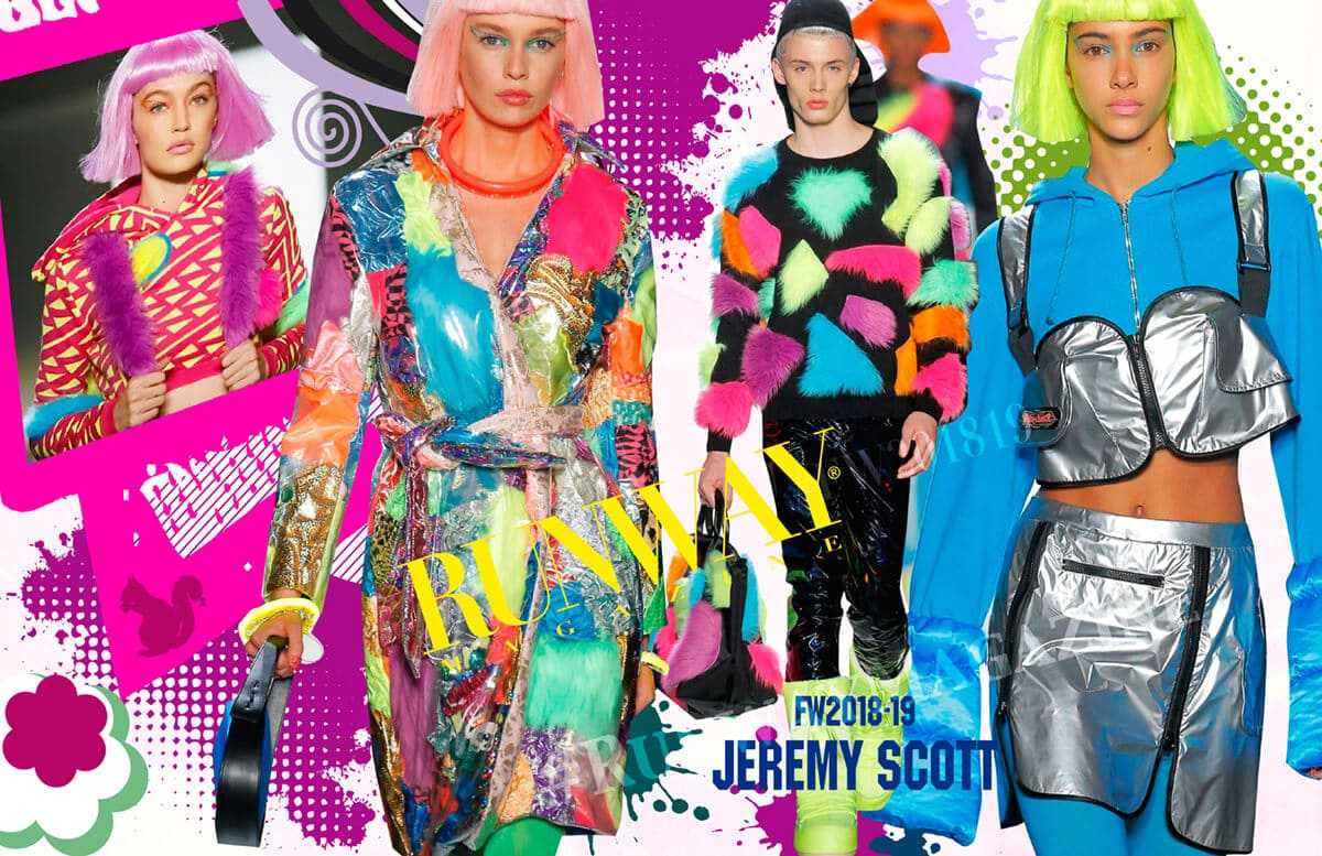 JEREMY SCOTT Fall-Winter 2018-2019 by Runway Magazine New York