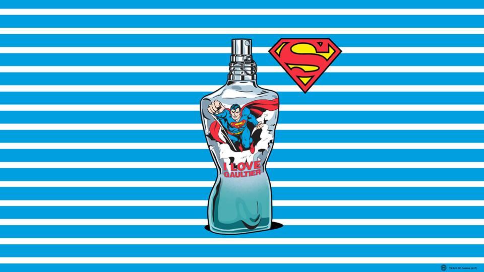 Jean-Paul-Gaultier-Runway-Magazine-comic-super-man-commercial Jean Paul Gaultier with Superman and Wonder Woman