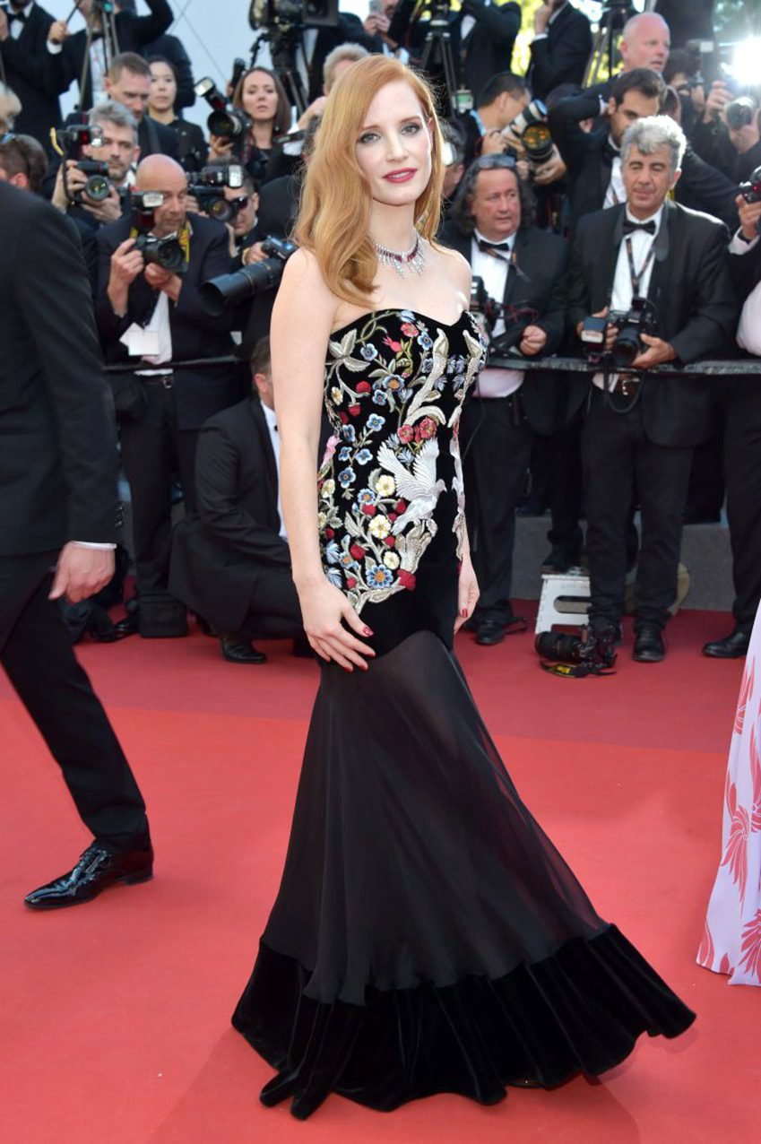 Jessica Chastain by Runway Magazine Cannes Fashion Film Festival 2017