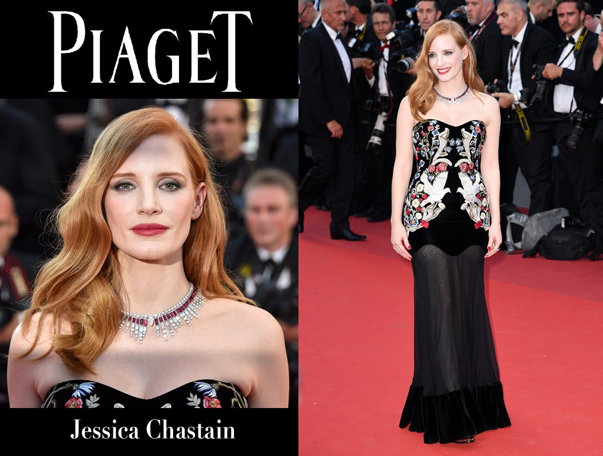 Jessica Chastain Piaget by Runway Magazine