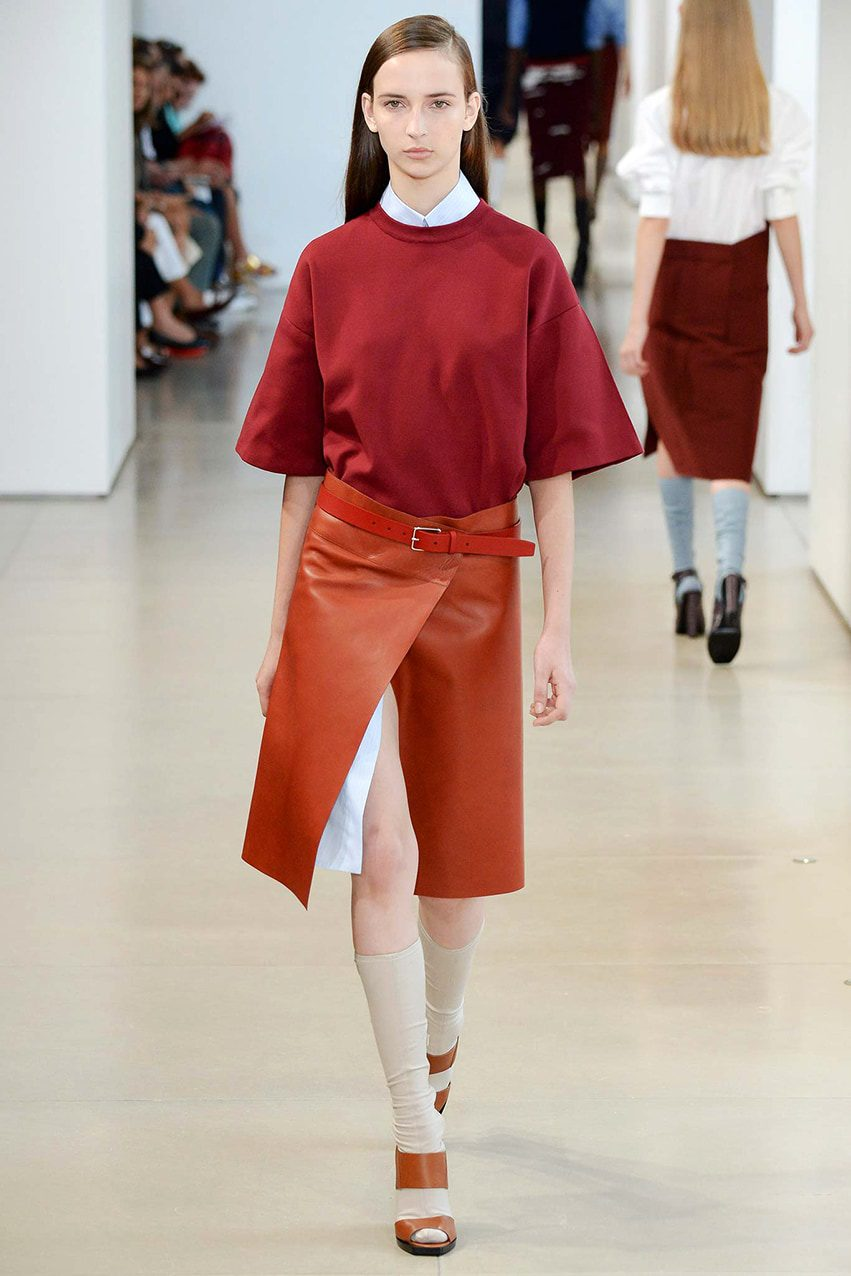 Jil-Sander-jupe-portefeuille-runway-magazine History of Skirt  by Runway Magazine