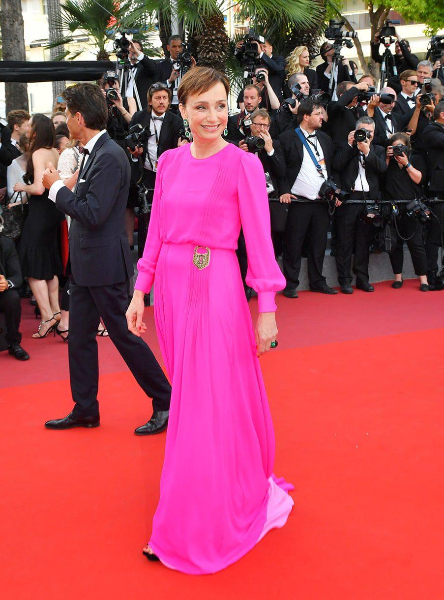 Kristin Scott Thomas by Runway Magazine Cannes Fashion Film Festival 2017