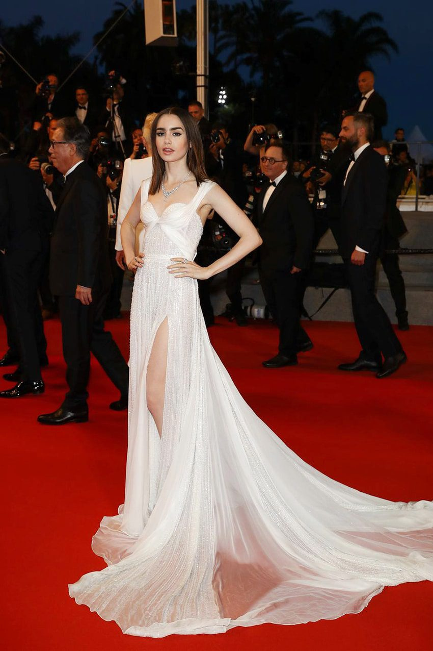 Lily Collins by Runway Magazine Cannes Fashion Film Festival 2017