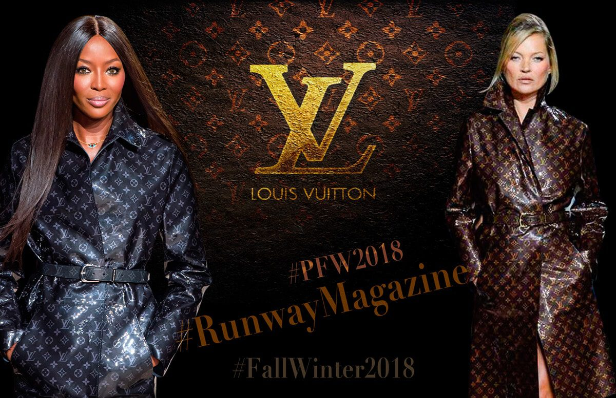 Louis Vuitton PFW by Runway Magazine Paris Fall Winter 2018 - 2019