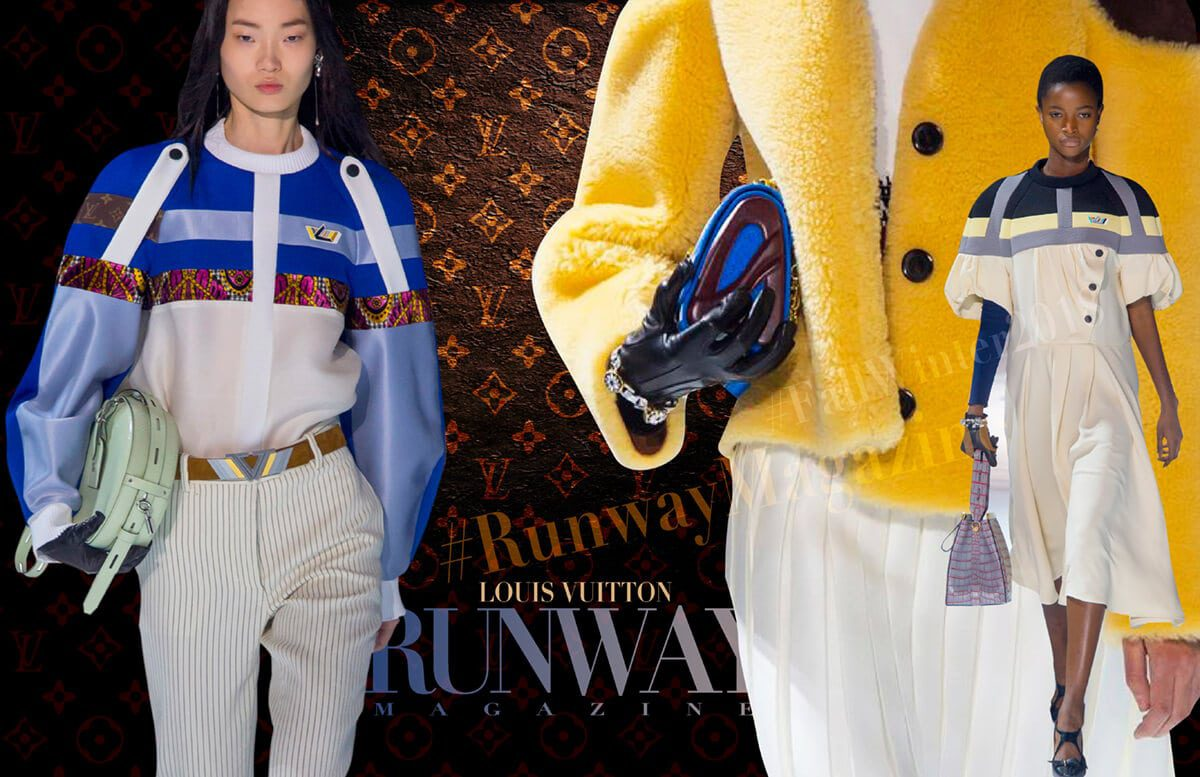 Louis Vuitton PFW by Runway Magazine Paris Fall Winter 2018 - 2019
