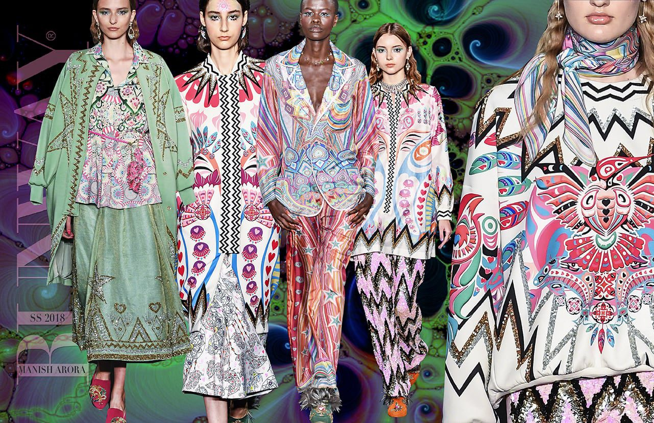 Manish Arora and Rahul Mishra Spring Summer 2018
