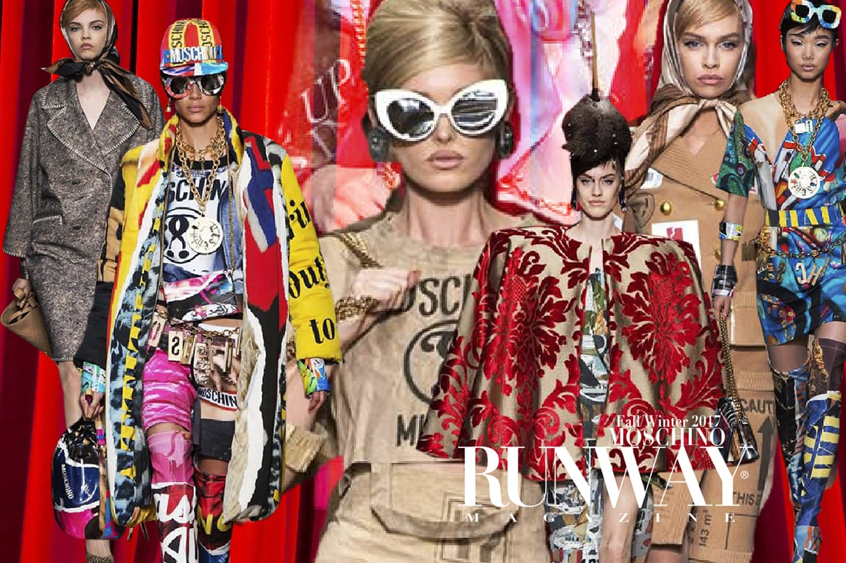 MOSCHINO-APFWP2017-EleonoradeGray-Editorinchief-runwaymagazine MOSCHINO Fashion Week Fall Winter 2017-2018