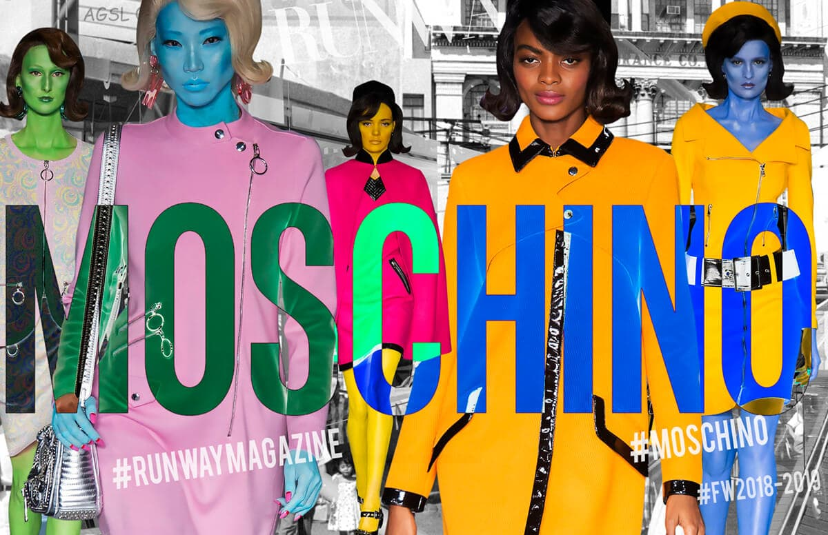 Moschino Fall Winter 2018-2019 by Runway Magazine Milan Fashion Week