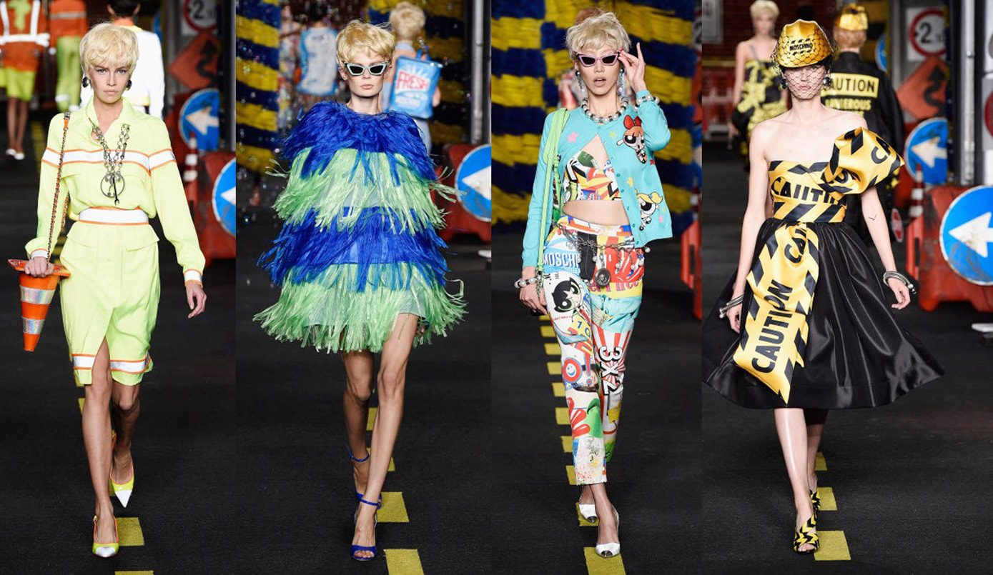 Moschino-Milan-Fashion-Week-2016 History of the Fashion Week
