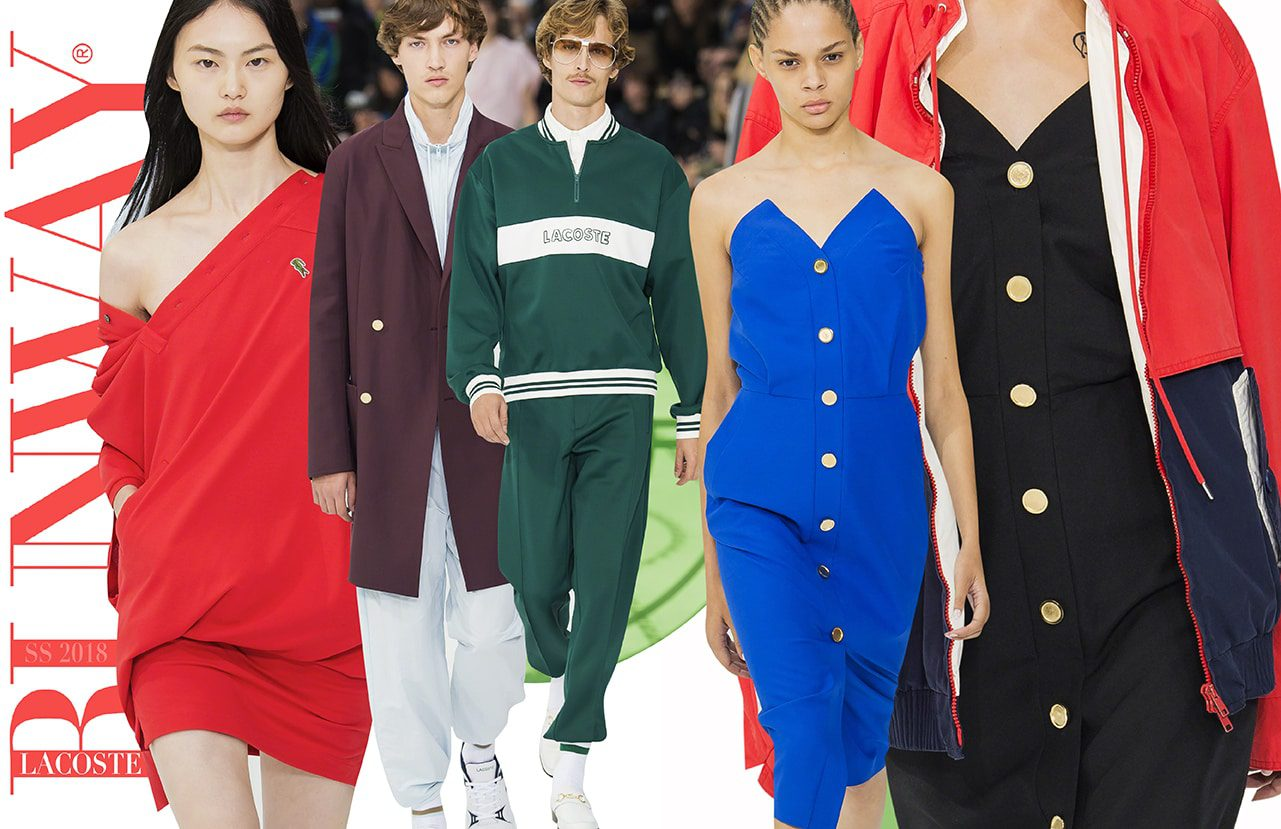 Lacoste's 85th anniversary by Runway Magazine