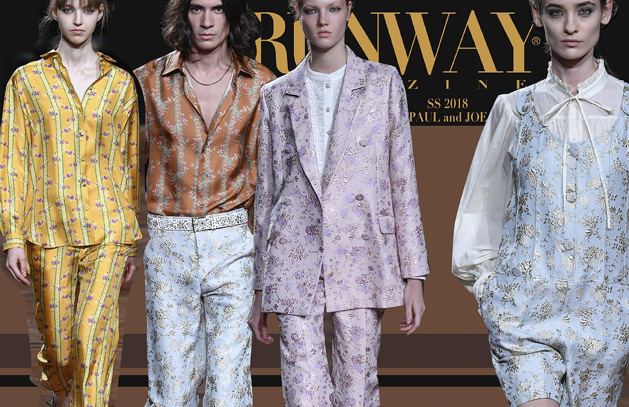 PAUL-AND-JOE-SS-2018-Runway-Magazine-Paris-FW Spring Summer 2018